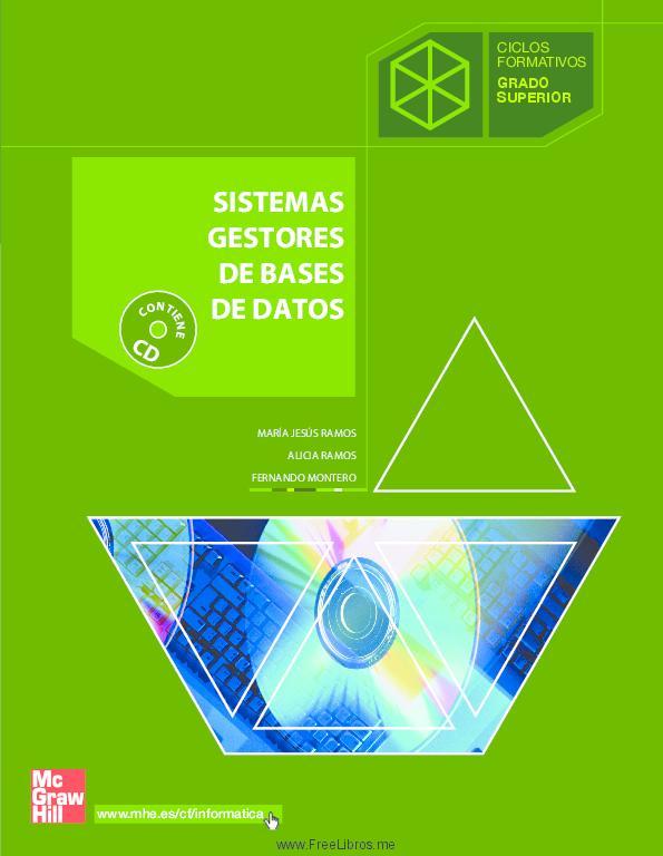 Pdf Sistemas Gestores De Bases De Datos Josep M Fraga Modrego Academia Edu