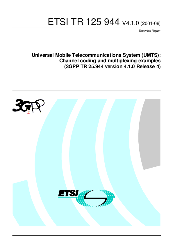 PDF) Universal Mobile Telecommunications System (UMTS
