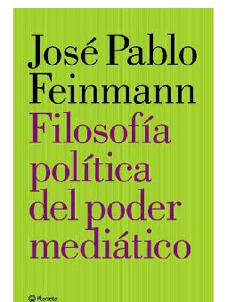 19740ff162 PDF) José Pablo Feinmann - Filosofia del poder mediático | Brayan ...