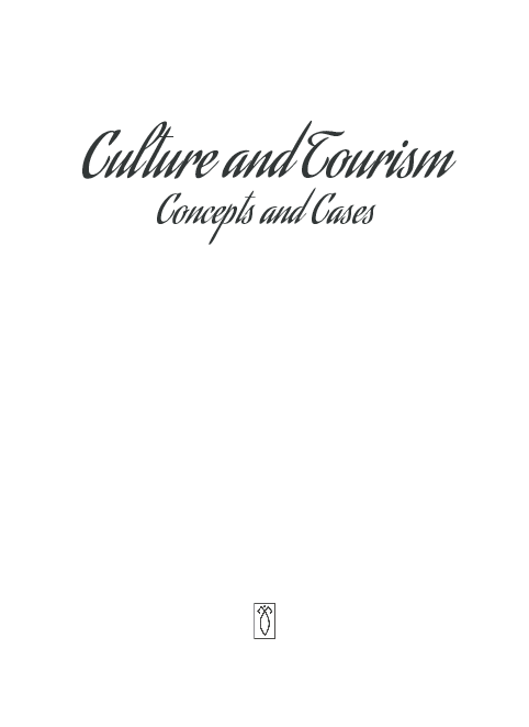 PDF) Culture and Tourism Concepts and Cases   Bidyadhar Behera
