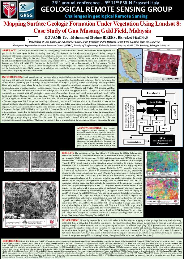 PDF) Mapping Surface Geologic Formation Under Vegetation