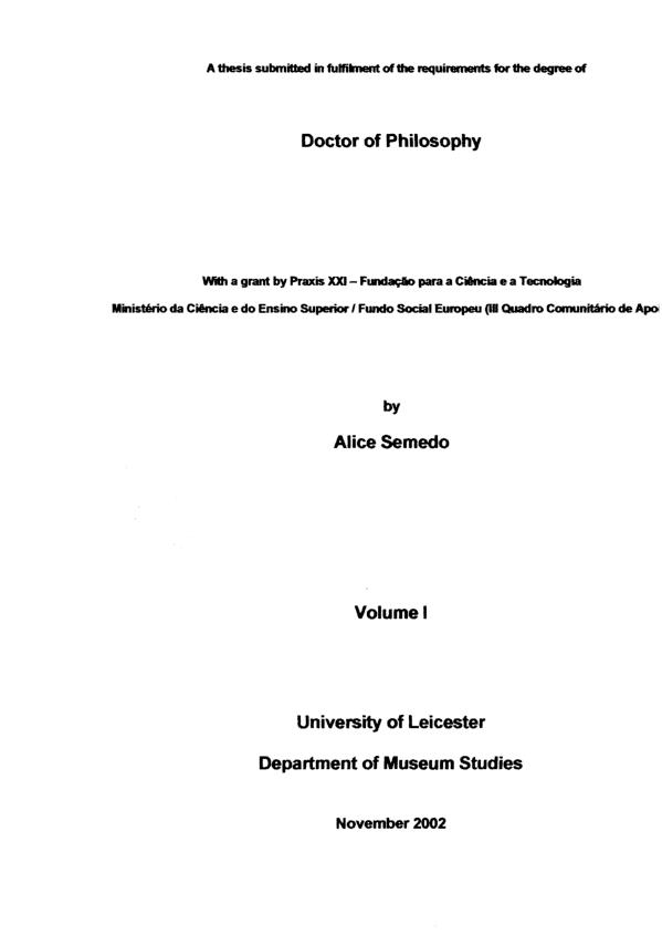 samuel museus dissertation