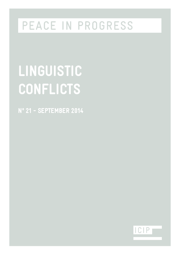 PDF) Language Conflicts (special issue) | Miquel Cabal