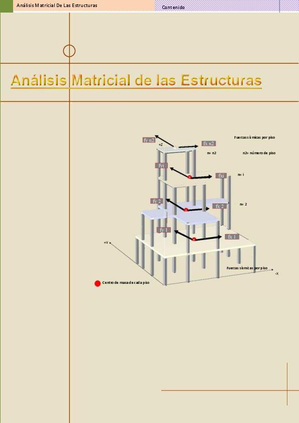 Pdf Analisis Matricial De Las Estructuras Erika Vallejo