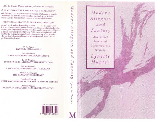 PDF) Modern Allegory and Fantasy: Rhetorical Stances of