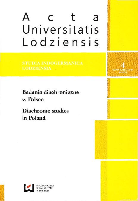 Pdf Badania Diachroniczne W Polsce Pamięci Profesora