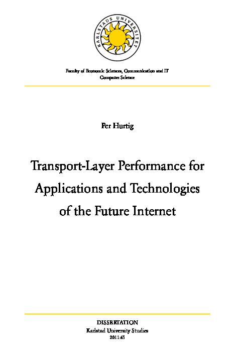 Pdf transport layer