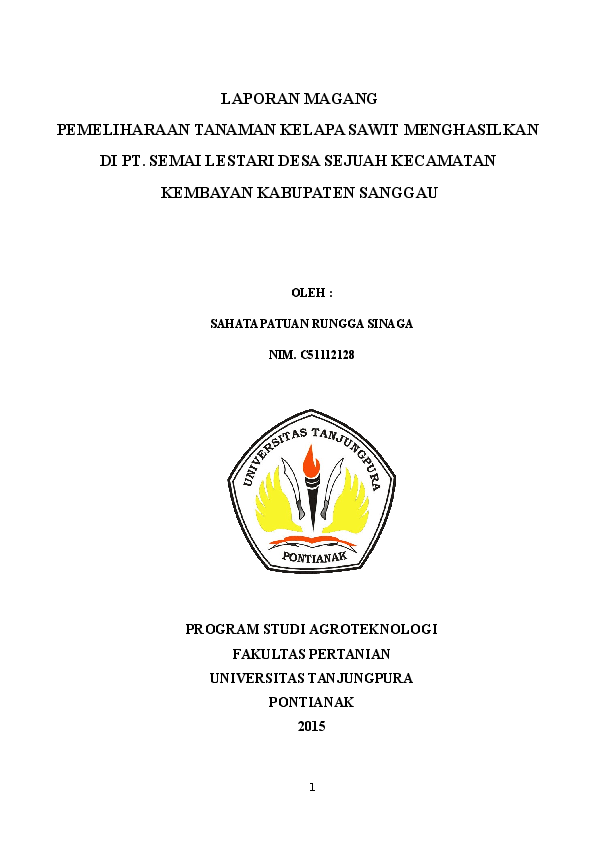 Doc Laporan Magang Sahata Sinaga Academia Edu