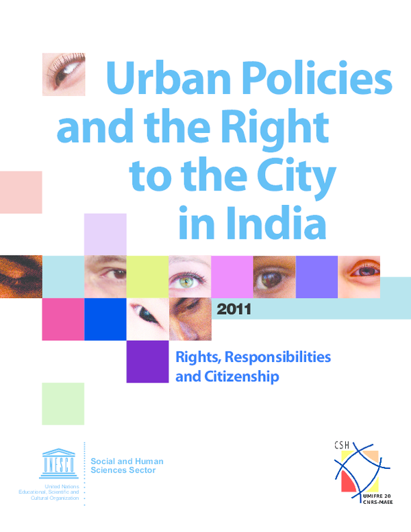 PDF) Urban Policies and the Right to the City in India Rights