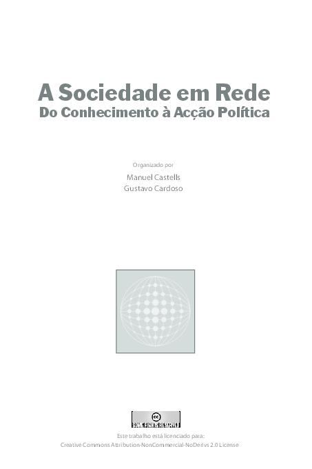 Castells a pdf manuel rede sociedade em