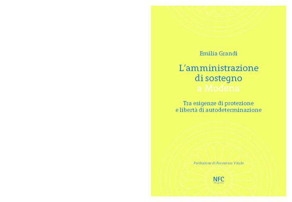 Relazione Periodica Amministratore Di Sostegno.Pdf L Amministrazione Di Sostegno A Modena Tra Esigenze Di