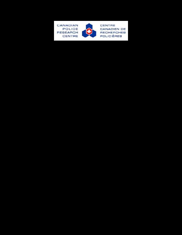 PDF) Detecting and Identifying Clandestine Drug Laboratories