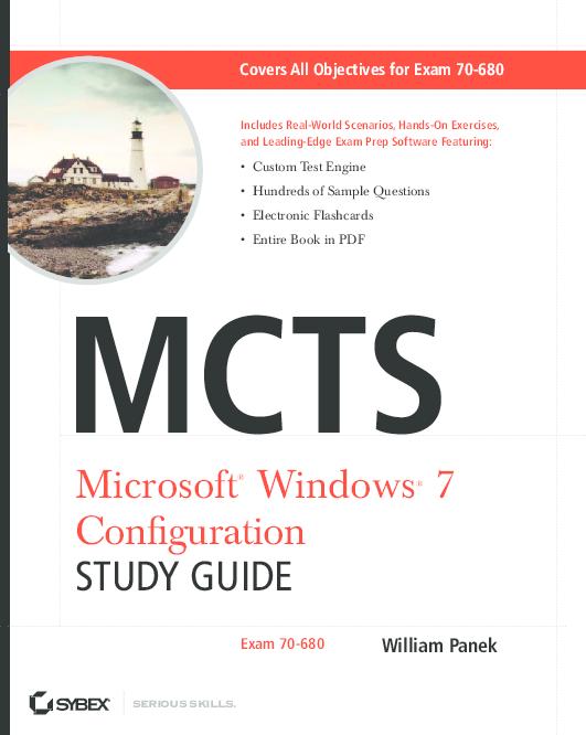PDF) Microsoft ® Windows ® 7 Confi guration STUDY GUIDE