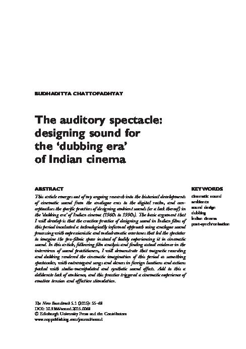 David pdf design sound sonnenschein