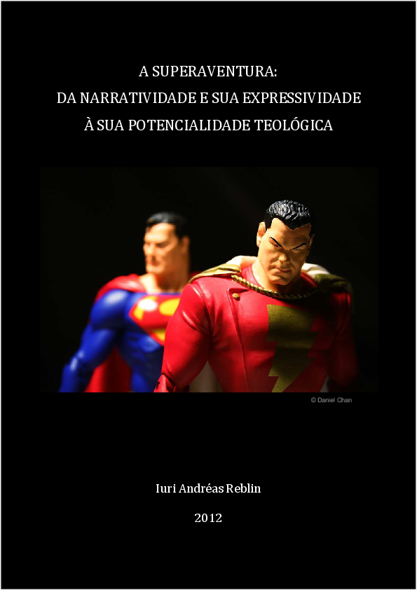 2bc4fc4ba94086 PDF) A Superaventura: da narratividade e sua expressividade à sua ...