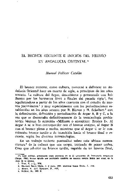 """(PDF) """"El Bronce Reciente e Inicios del Hierro en ..."""