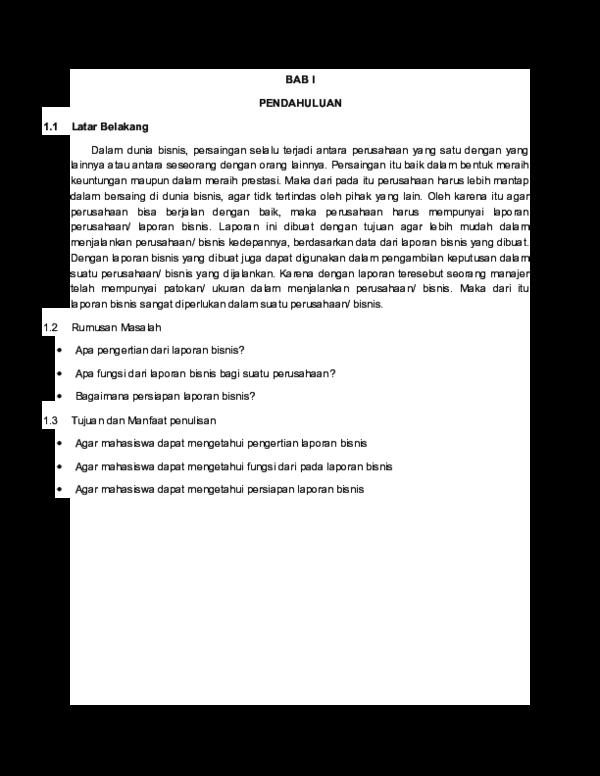 Doc Komunikasi Bisnis Putu Candrawati Academia Edu