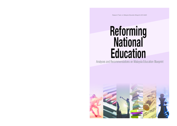 PDF) Analyses and Recommendations on Malaysia Education