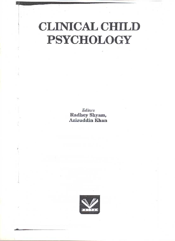 PDF) Psychological tests developed for children in India: A