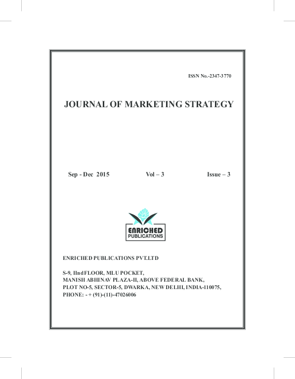 PDF) Two Research Articles Related to Sanitation and its marketing