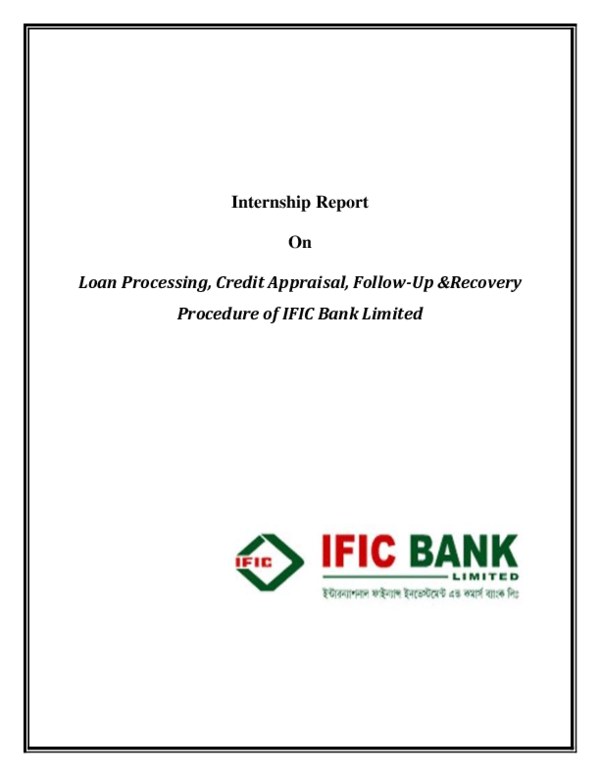 ific bank introduction