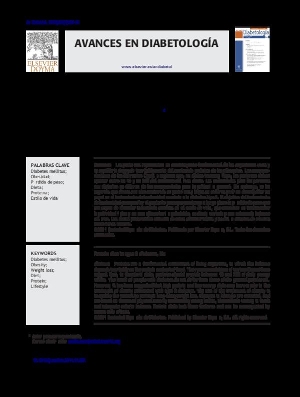 Dieta para obesidad tipo 2 pdf