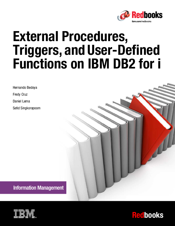 PDF) External Procedures, Triggers, and User-Defined Functions on