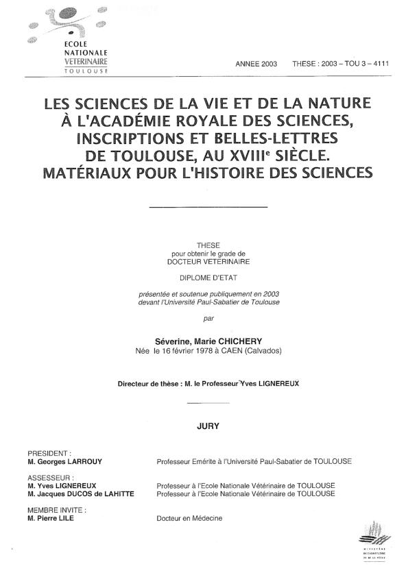 Sciences Nature L'académie À Des PdfLes Vie Royale De Et La kXulZTwOPi