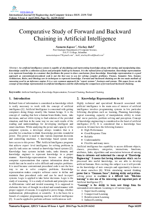 Artificial Intelligence By Rich And Knight Solution Pdf