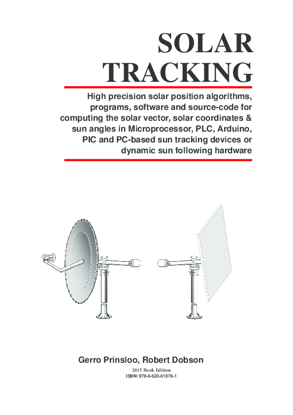 PDF) Solar Tracking: High precision solar position