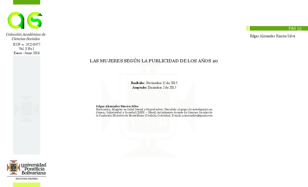 41c650533cc PDF) LAS MUJERES SEGÚN LA PUBLICIDAD DE LOS AÑOS 20