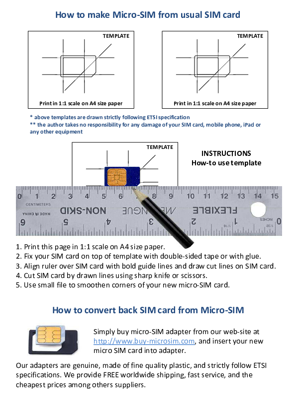 Pdf Template Print In 1 1 Scale How To Make Micro Sim From Usual Sim Card How To Convert Back Sim Card From Micro Sim B Boy Michael Academia Edu