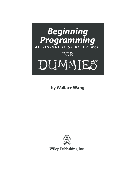 macs all in one desk reference for dummies wang wallace