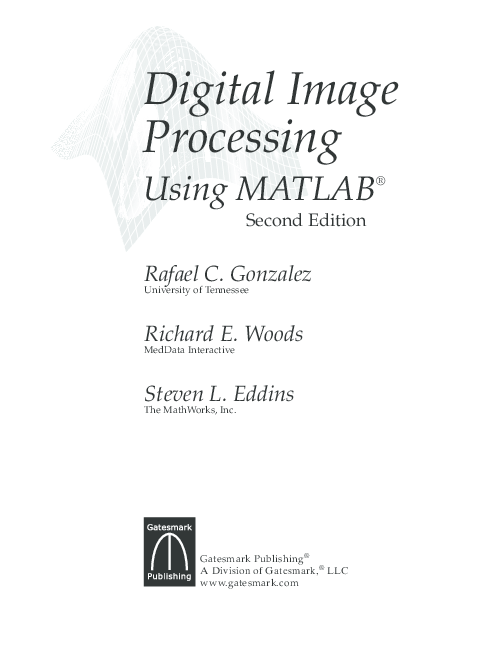 PDF) Digital Image Processing Using MATLAB ® Second Edition