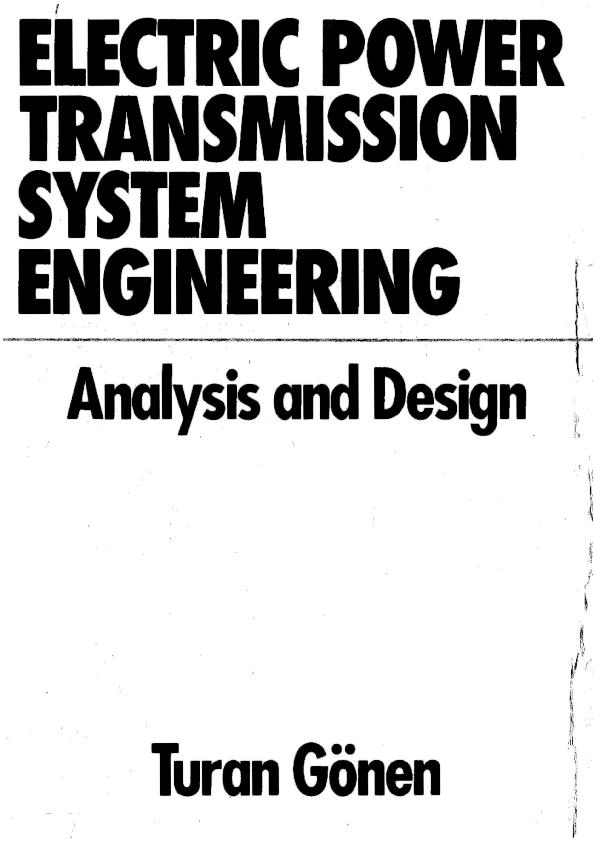Pdf Electric Power Transmission System Engineering Sead Saric Academia Edu