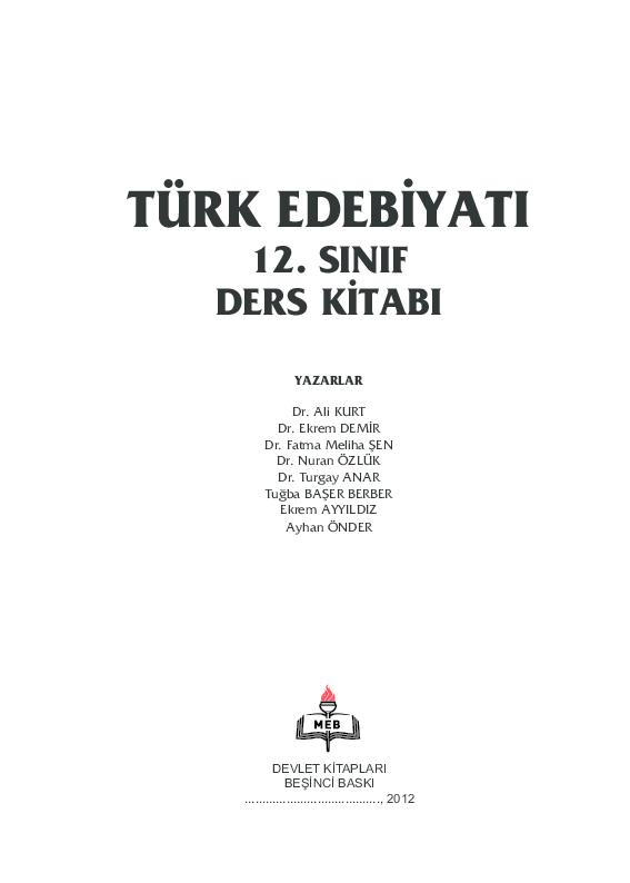 Pdf Turkedebiyati Yucel Goze Academia Edu