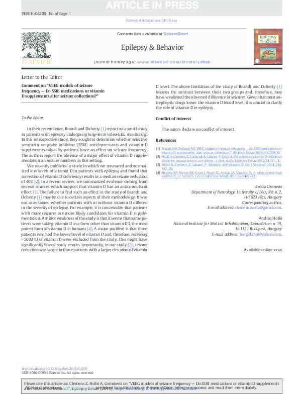PDF) Comment on