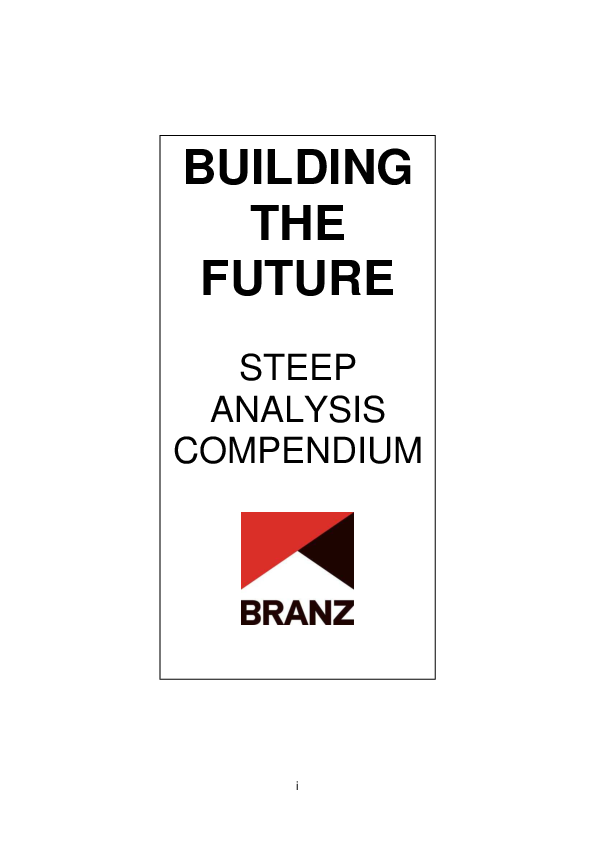 PDF) The New Zealand Built Environment in 2025  Building the Future