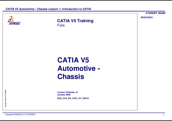 PDF) Automotive -Chassis, Introduction to CATIA V5 | Gonzalo Anzaldo