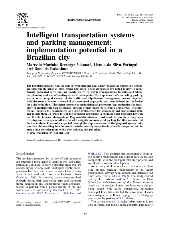 Introduction To Transportation Systems Sussman Pdf