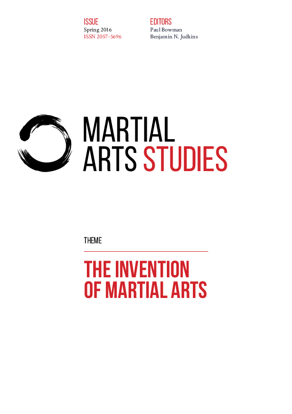 PDF) MARTIAL ARTS STUDIES, issue two: THE INVENTION OF