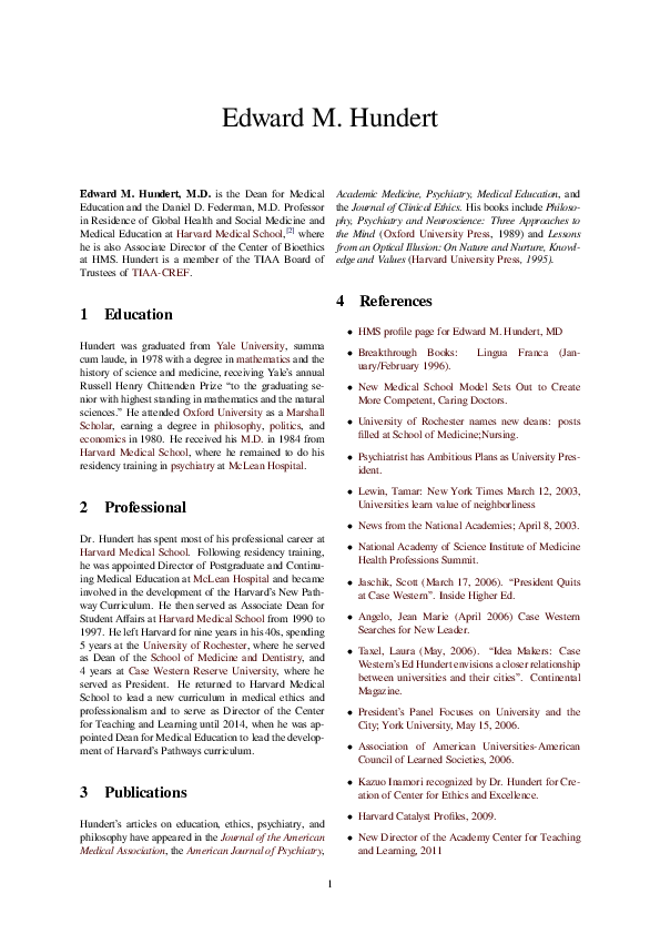 PDF) Edward M  Hundert | Maynard S Clark - Academia edu