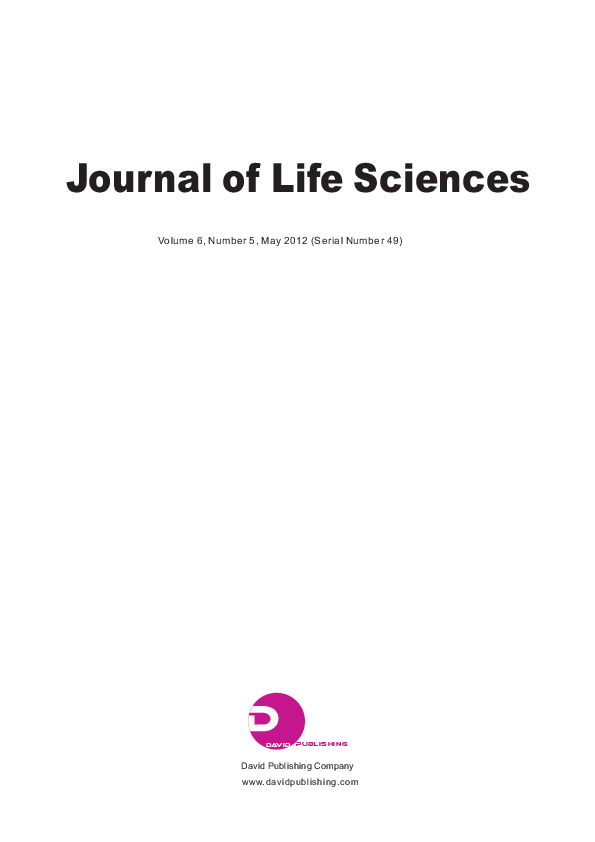 PDF) Journal of Life Sciences Volume 6, Number 5, May 2012 (Serial