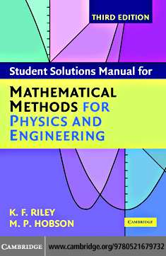 PDF) Student solutions manual for mathematical methods for