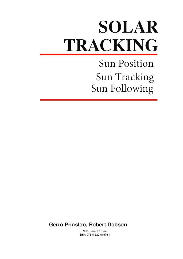 Solar Tracking Sun Tracking Sun Tracker Solar Tracker Follow Sun