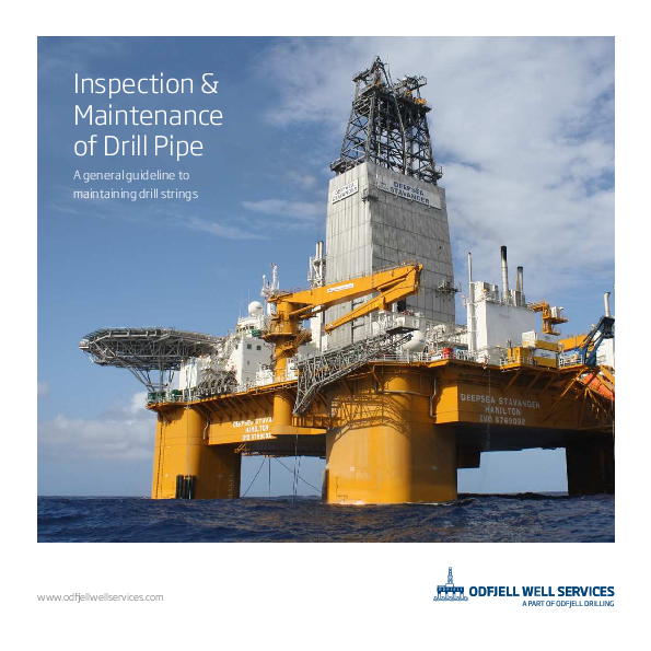 PDF) Inspection & Maintenance of Drill Pipe A general