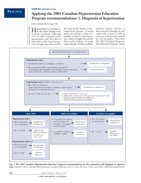 (PDF) CHEP Recommendations: Applying the 2005 Canadian..