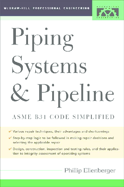 PDF) Piping Systems & Pipeline Asme Code Simplified | Erlet
