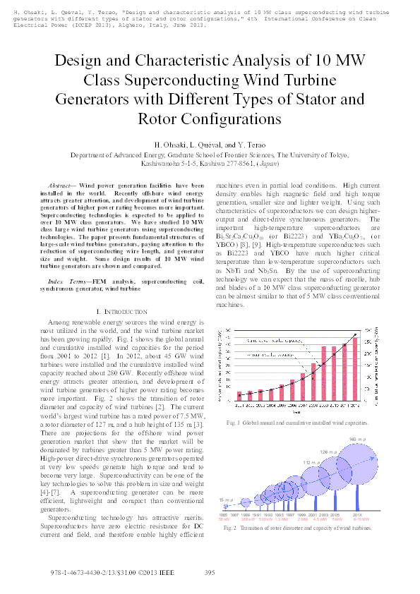 Superconducting Generator Pdf