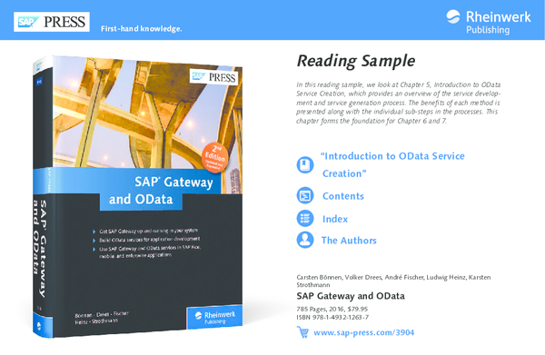 PDF) SAP Gateway and OData | Deepak Tolani - Academia edu